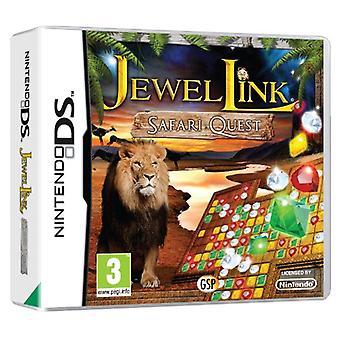 Jewel Link Safari Quest (Nintendo DS) - Factory Sealed
