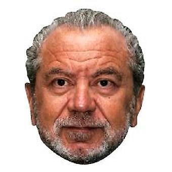 Maschera di Alan Sugar.