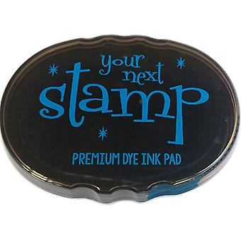Your Next Stamp Premium Dye Ink Pad-Blue Curacao