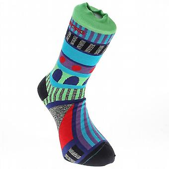 Björn Borg Crew Sock ~ Doodle Graphic blue