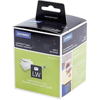 DYMO S0722400 Label roll 89 x 36 mm Paper White 520 pc(s) Permanent Shipping labels