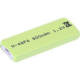 Mexcel HPE-F6-800 niet-standaard batterij (oplaadbare) Prismatic NiMH 1.2 V 770 mAh