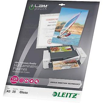 Laminate sheet Leitz A3 125 micron glossy 25 pc(s)