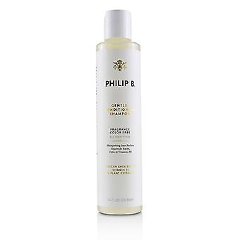 Philip B Gentle Conditioning Shampoo (geur kleur gratis - alle haartypes) - 220ml/7.4 oz