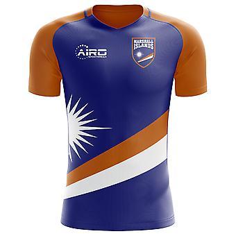 2018-2019 Marshall Islands Home Concept Football Shirt