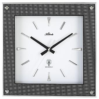 Radio controlled wall clock wall clock wall clock radio in carbon optics