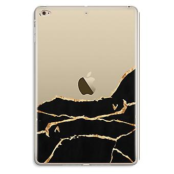 iPad Mini 4 Transparent Case (Soft) - Gold marble