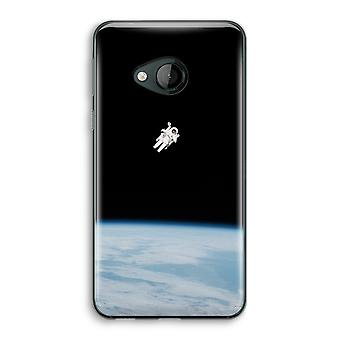 HTC U Play Transparent Case (Soft) - Alone in Space