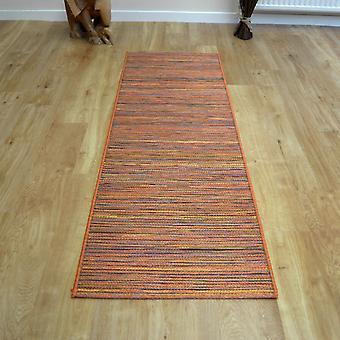 Brighton Hallway Runner 98122 8000 In Orange