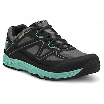 Hydroventure Womens LIGHTWEIGHT & WATERPROOF Trail Running Shoes Black/Turquoise