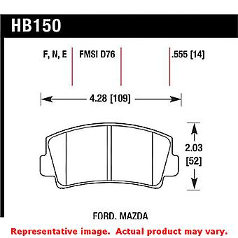 Hawk 'Performance Street' Brake Pads HB150N.555 Fits:MAZDA 1978 - 1978 B1800  P