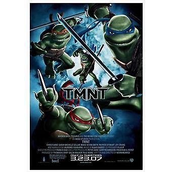 Cartel de la película TMNT (11 x 17)