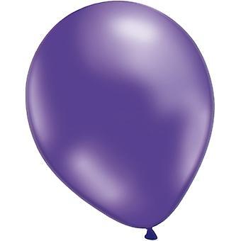 Balões roxo metálico 25-pacote
