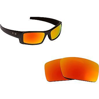 Gascan S Replacement Lenses Polarized Red Mirror by SEEK fits OAKLEY Sunglasses