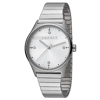 ESPRIT Ladies Womans Watch Analogue VinRose White Silver Matt Quartz