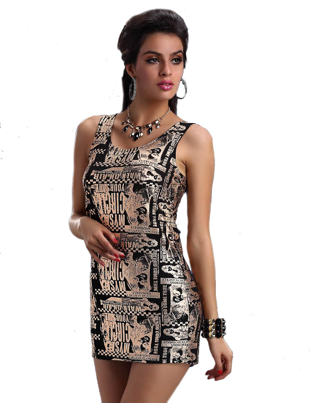 Waooh - Fashion - Short Dress write pattern