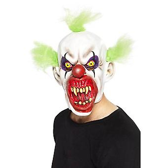Sinister Clown Mask.  One Size