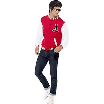 50's College Jock Letterman Jacket, Chest 38