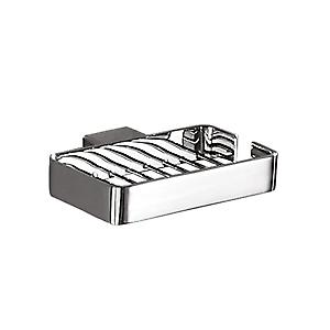 Gedy Lounge Metal Soap Basket Chrome 5412 13