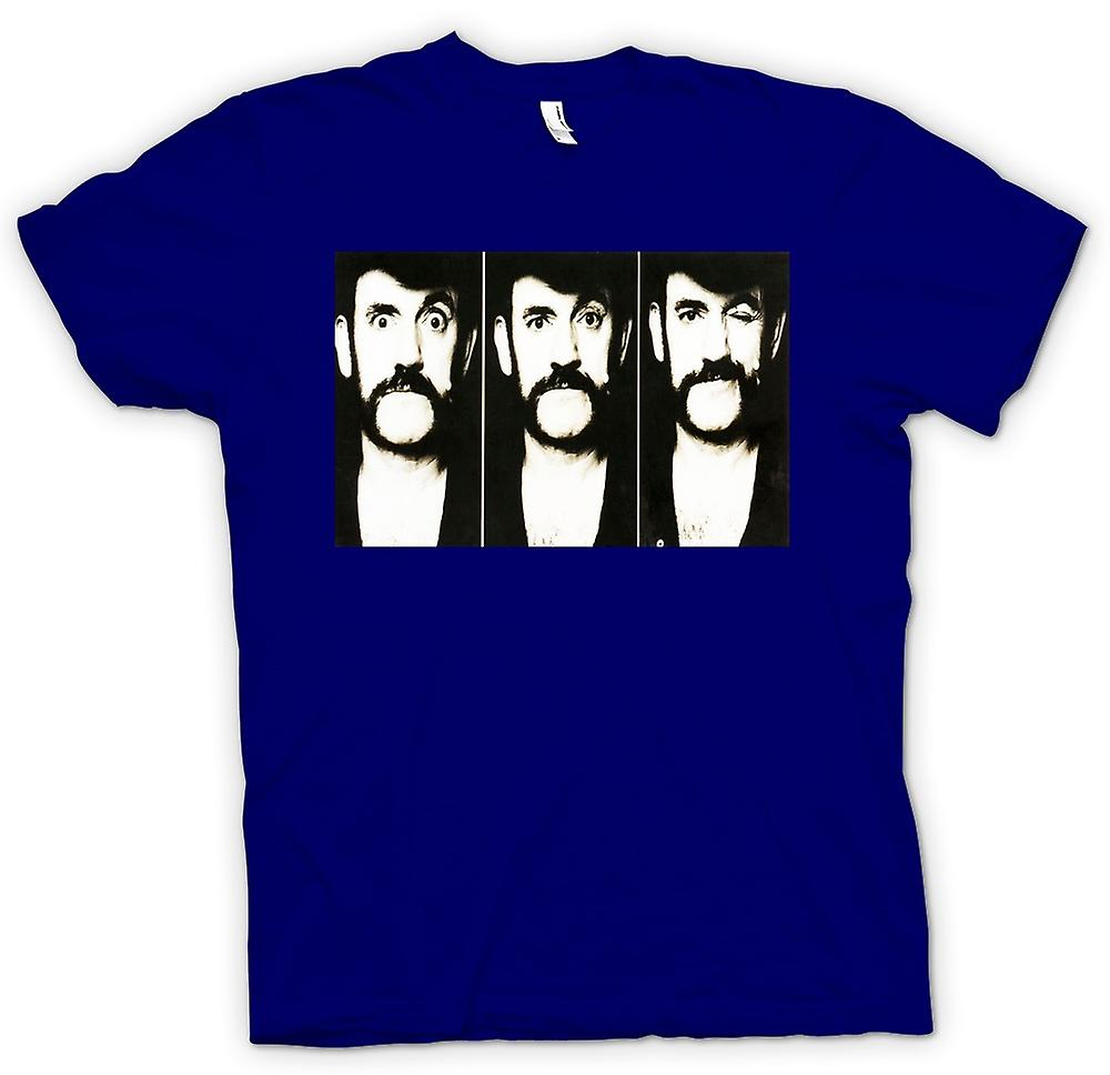 T-shirt des hommes - Lemmy - Motorhead - BW - Photo Slide