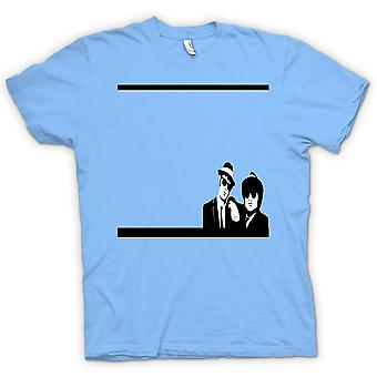 Womens T-shirt - Black & White Blues Brothers - Film