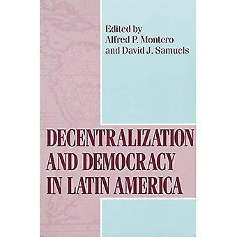 Descentralización y democracia en América Latina