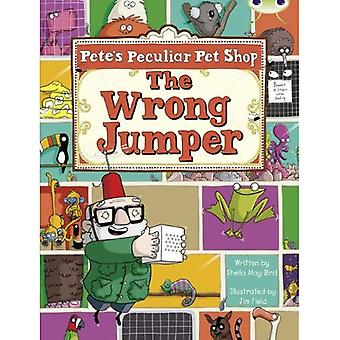 Pete's Peculiar Pet Shop: The Wrong Jumper (Purple A) (BUG CLUB)