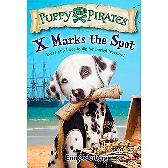 X markeert de plek (Puppy Pirates)