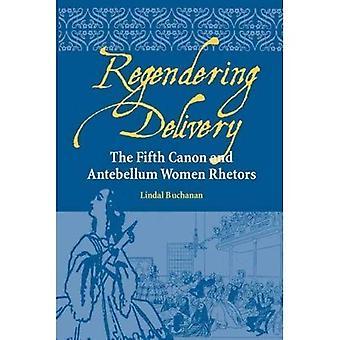 : Regendering el quinto Canon y mujeres Antebellum Rhetors