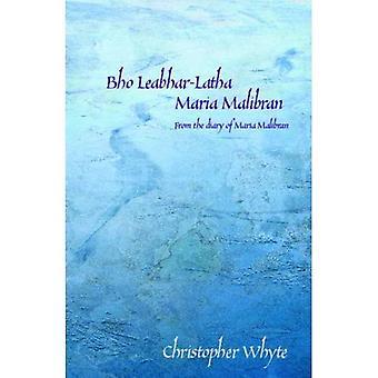 Bho Leabhar-latha Maria Malibran: From the Diary of Maria Malibran