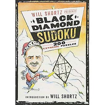 Voluntad Shortz presenta Black Diamond Sudoku: rompecabezas extremo 200