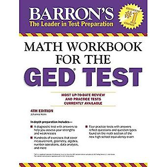 Math Workbook for the GED Test, 4th Edition (Barron's Ged Math Workbook)