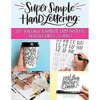 Super eenvoudige Hand belettering