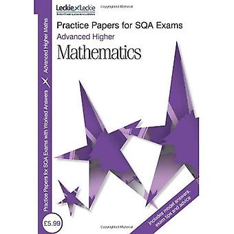Advanced Higher Maths Practice Papers for SQA Exams