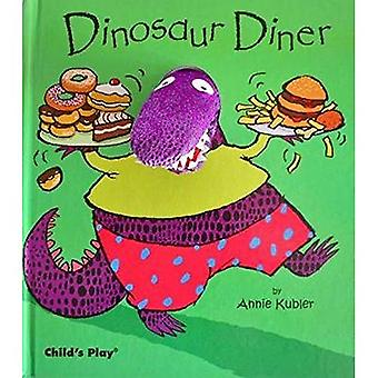 Dinosaur Diner (Book & Fabric Finger Puppet)