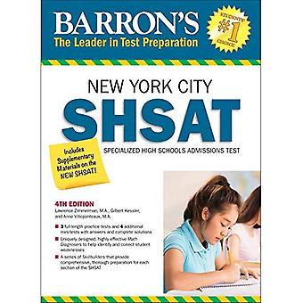 Barron's Shsat, 5th Edition: New York City Specialized High Schools Admissions Test