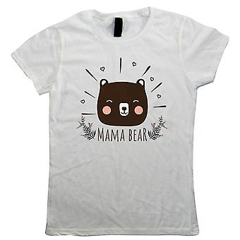 Mama Bear, Womens Funny T Shirt | Funny Novelty Perfect Gift Present For Mum Mom Mama Ladies | Mothers Day Birthday Christmas from Daughter Son Grandson