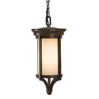 Lanterna esterna piccola catena di Merrill - Elstead illuminazione