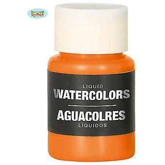Make up and eyelashes  Orange liquid Water Makeup