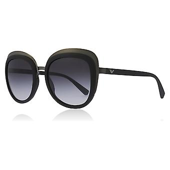 Emporio Armani EA2058 30108G Matte Gunmetal/Matte Black EA2058 Square Sunglasses Lens Category 3 Size 53mm
