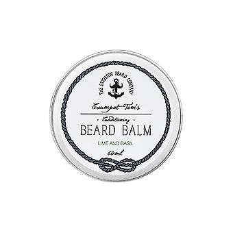 The Brighton Beard Company Creampot Tom's Beard Balm - Lime and Basil - 60ml