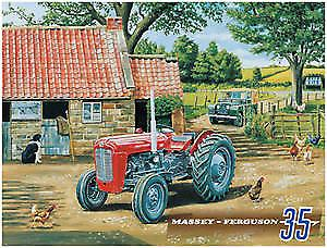 Massey Ferguson 35 metal sign  (og sm 2015)