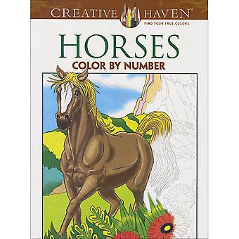 Dover Publications-Creative Haven: Horses
