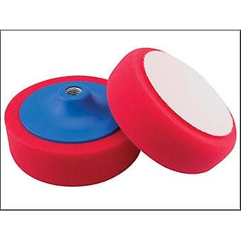 RED POLISHING FOAM 150MM X 50MM 5/8 UNC.