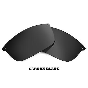 CARBON BLADE Replacement Lenses Polarized Black by SEEK fits OAKLEY Sunglasses