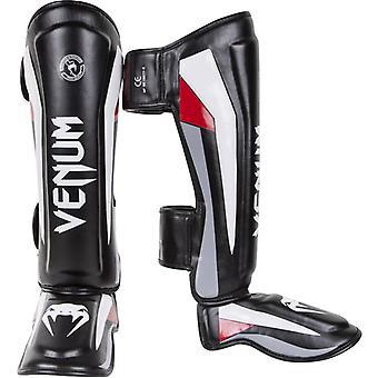 MMA Venum Elite Sparring Standup protège-tibias avec Instep - noir