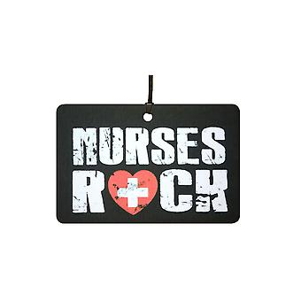 Nurses Rock Car Air Freshener
