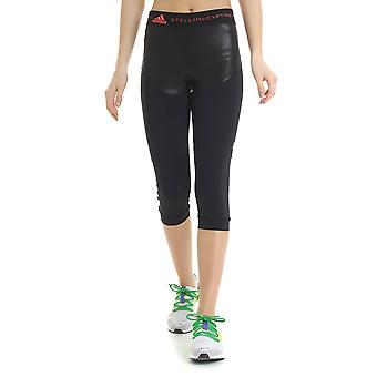 Adidas By Stella Mccartney Black Nylon Leggings