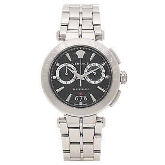 Versace Vebr00818 Aion 45 Mm Mens Watch Chronograph
