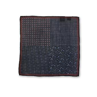 Olymp Pocket Square in Marine meerdere patroon